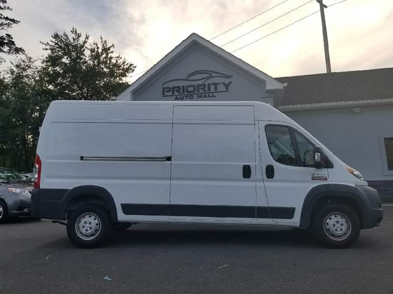 2017 RAM ProMaster Cargo 2500 159 WB 3dr High Roof Cargo Van - Lakewood NJ