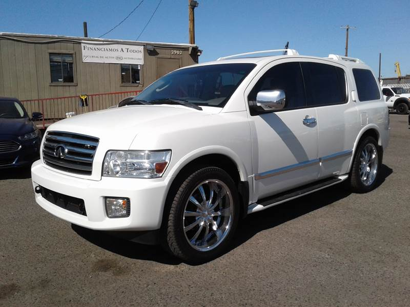 2004 Infiniti Qx56 4wd 4dr Suv In Phoenix Az C And B Auto Sales Llc