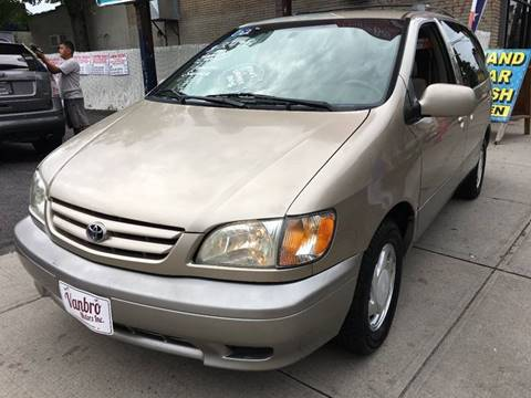 2002 Toyota Sienna for sale in Staten Island, NY