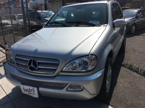 2004 Mercedes-Benz M-Class for sale in Staten Island, NY