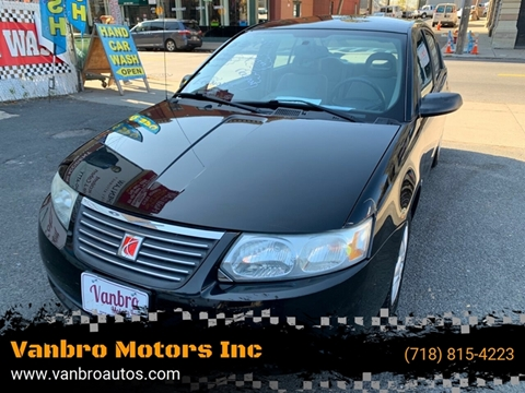 2006 Saturn Ion for sale at Vanbro Motors Inc in Staten Island NY