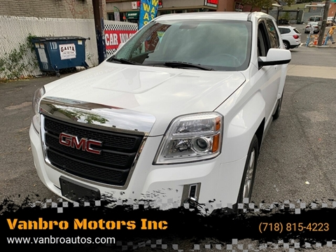 2014 GMC Terrain for sale at Vanbro Motors Inc in Staten Island NY