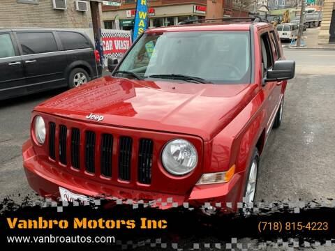 2010 Jeep Patriot for sale at Vanbro Motors Inc in Staten Island NY