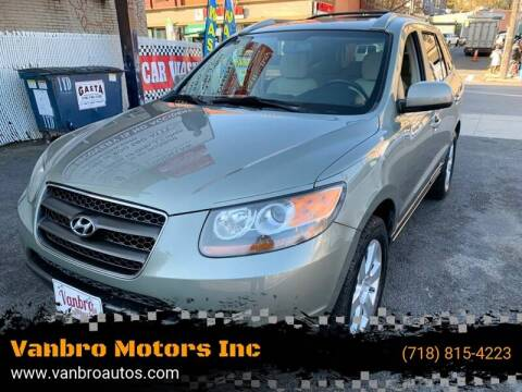2007 Hyundai Santa Fe for sale at Vanbro Motors Inc in Staten Island NY