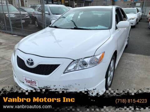 2009 Toyota Camry for sale at Vanbro Motors Inc in Staten Island NY