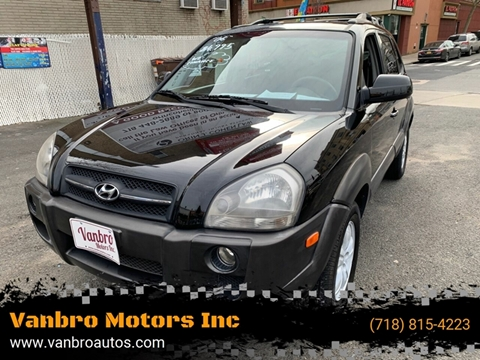 2006 Hyundai Tucson for sale at Vanbro Motors Inc in Staten Island NY