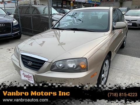 2006 Hyundai Elantra for sale at Vanbro Motors Inc in Staten Island NY