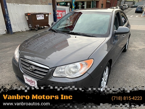 2008 Hyundai Elantra for sale at Vanbro Motors Inc in Staten Island NY