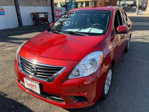 2012 Nissan Versa for sale at Vanbro Motors Inc in Staten Island NY