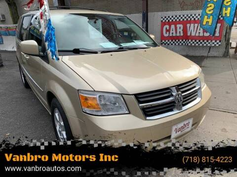 2010 Dodge Grand Caravan for sale at Vanbro Motors Inc in Staten Island NY