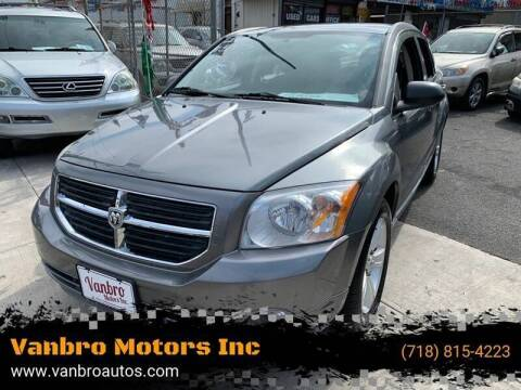 2011 Dodge Caliber for sale at Vanbro Motors Inc in Staten Island NY
