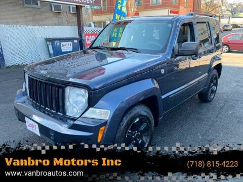 2008 Jeep Liberty for sale at Vanbro Motors Inc in Staten Island NY