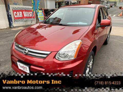 2010 Nissan Rogue for sale at Vanbro Motors Inc in Staten Island NY