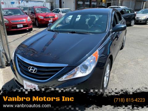 2011 Hyundai Sonata for sale at Vanbro Motors Inc in Staten Island NY