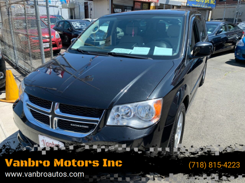 2012 Dodge Grand Caravan for sale at Vanbro Motors Inc in Staten Island NY
