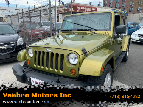 2007 Jeep Wrangler Unlimited for sale at Vanbro Motors Inc in Staten Island NY