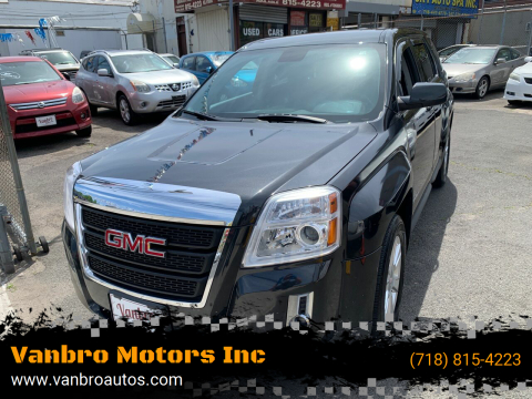 2013 GMC Terrain for sale at Vanbro Motors Inc in Staten Island NY
