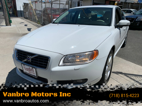 2008 Volvo S80 for sale at Vanbro Motors Inc in Staten Island NY