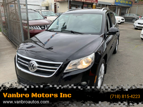2011 Volkswagen Tiguan for sale at Vanbro Motors Inc in Staten Island NY