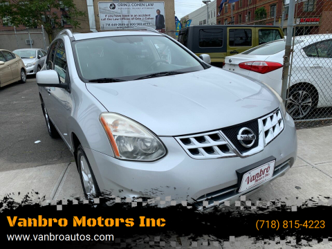 2011 Nissan Rogue for sale at Vanbro Motors Inc in Staten Island NY