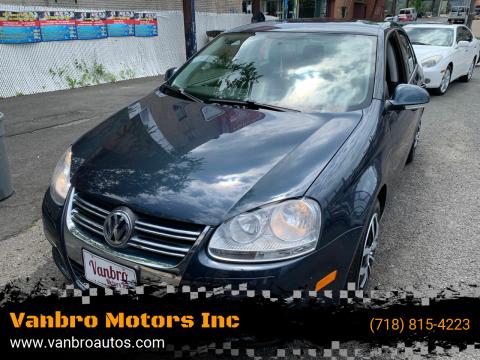 2010 Volkswagen Jetta for sale at Vanbro Motors Inc in Staten Island NY