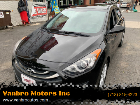 2014 Hyundai Elantra GT for sale at Vanbro Motors Inc in Staten Island NY