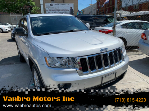 2011 Jeep Grand Cherokee for sale at Vanbro Motors Inc in Staten Island NY