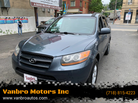 2008 Hyundai Santa Fe for sale at Vanbro Motors Inc in Staten Island NY