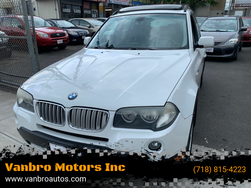 2008 BMW X3 for sale at Vanbro Motors Inc in Staten Island NY