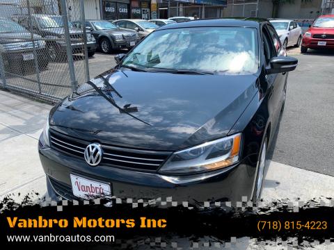 2014 Volkswagen Jetta for sale at Vanbro Motors Inc in Staten Island NY