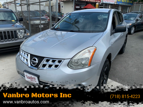 2012 Nissan Rogue for sale at Vanbro Motors Inc in Staten Island NY