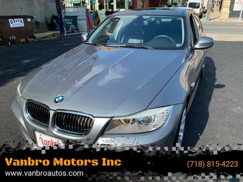 2011 BMW 3 Series for sale at Vanbro Motors Inc in Staten Island NY