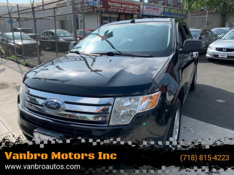 2010 Ford Edge for sale at Vanbro Motors Inc in Staten Island NY
