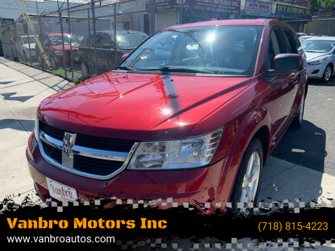 2009 Dodge Journey for sale at Vanbro Motors Inc in Staten Island NY
