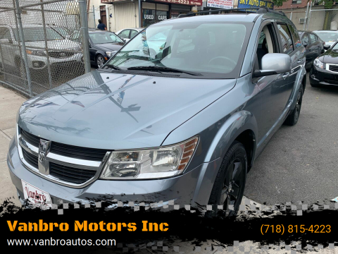 2010 Dodge Journey for sale at Vanbro Motors Inc in Staten Island NY