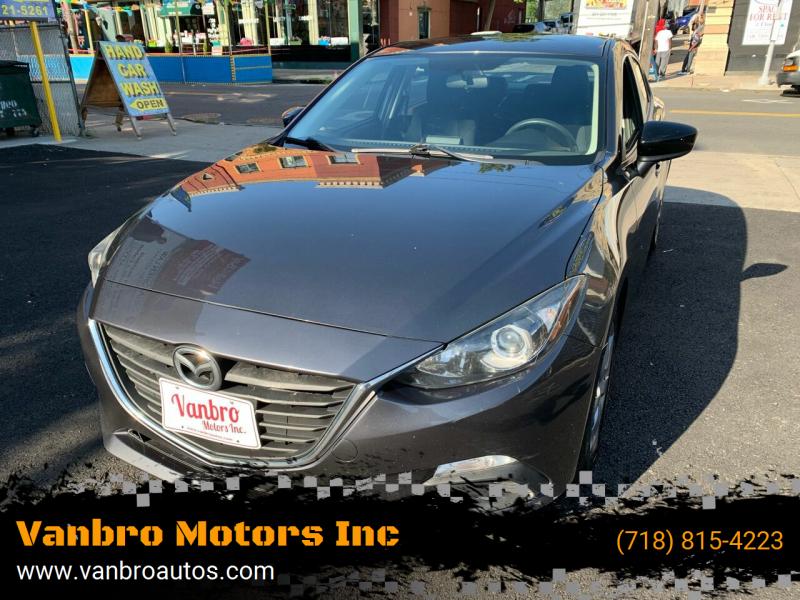2014 Mazda MAZDA3 for sale at Vanbro Motors Inc in Staten Island NY