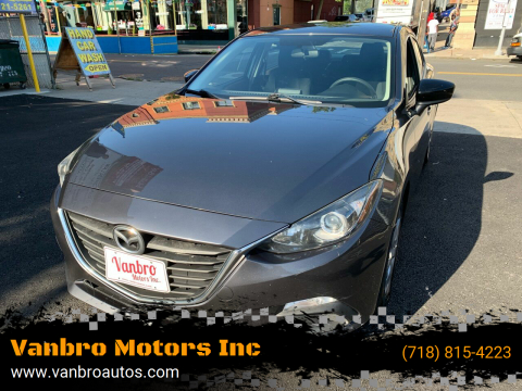 2014 Mazda MAZDA3 for sale at Vanbro Motors Inc in Staten Island NY