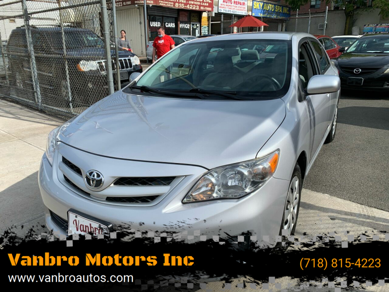 2011 Toyota Corolla for sale at Vanbro Motors Inc in Staten Island NY