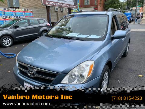 2008 Hyundai Entourage for sale at Vanbro Motors Inc in Staten Island NY