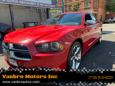 2013 Dodge Charger for sale at Vanbro Motors Inc in Staten Island NY