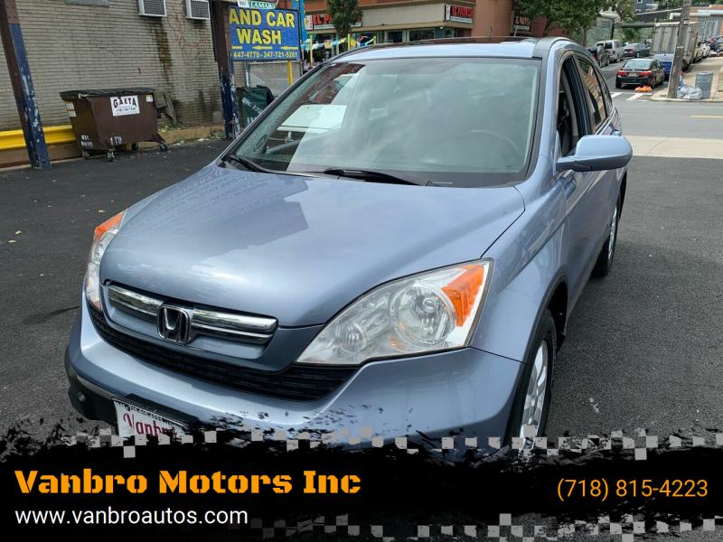2007 Honda CR-V for sale at Vanbro Motors Inc in Staten Island NY