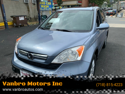2007 Honda CR-V for sale at Vanbro Motors Inc in Staten Island NY