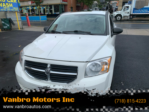 2009 Dodge Caliber for sale at Vanbro Motors Inc in Staten Island NY