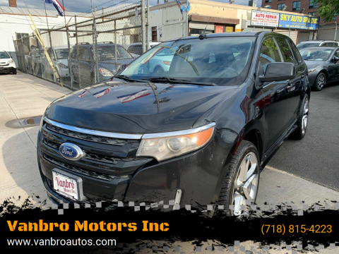 2011 Ford Edge for sale at Vanbro Motors Inc in Staten Island NY