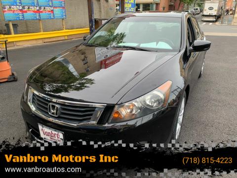 2010 Honda Accord for sale at Vanbro Motors Inc in Staten Island NY