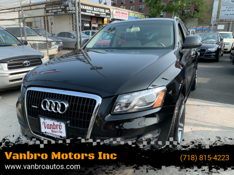 2009 Audi Q5 for sale at Vanbro Motors Inc in Staten Island NY