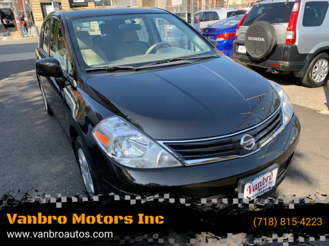 2011 Nissan Versa for sale at Vanbro Motors Inc in Staten Island NY