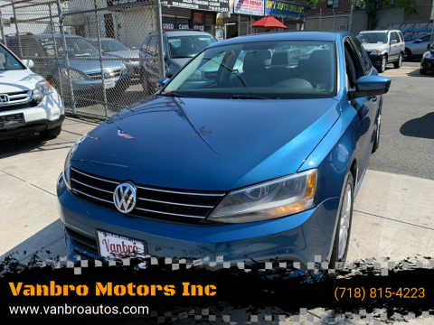 2017 Volkswagen Jetta for sale at Vanbro Motors Inc in Staten Island NY