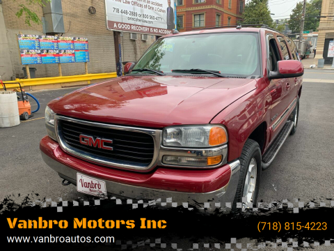 2004 GMC Yukon XL for sale at Vanbro Motors Inc in Staten Island NY