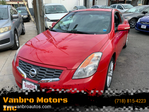 2008 Nissan Altima for sale at Vanbro Motors Inc in Staten Island NY